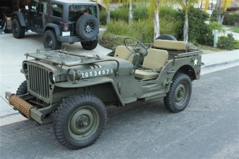 Mb Jeep 1944 Willys Mb Ww2 Jeep Wwii Restored Not Ford Gpw 1941