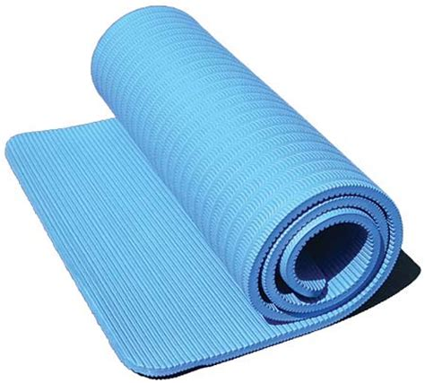 workout matte sportstek ribbed exercise mats