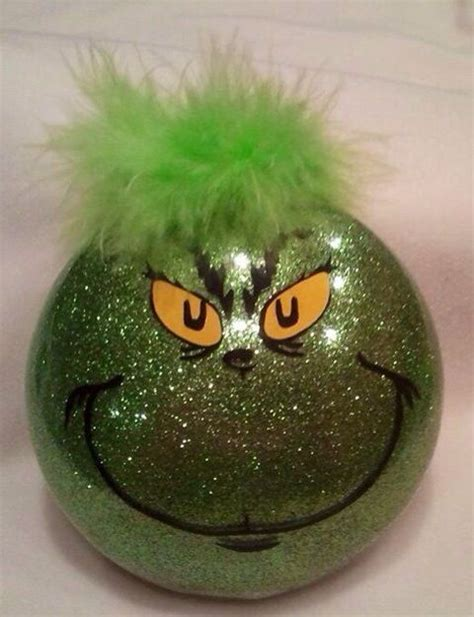 the grinch stole christmas ornament holidays pinterest