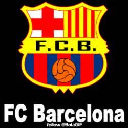wallpaper logo barcelona bergerak gambar bergerak barca animasi logo dp bbm barcelona fc gif