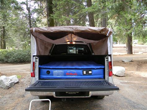 diy truck bed cer in the craft room home made truck tent