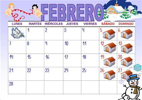 Calendario De Febrero El Ba 218 L De Las Sorpresas Febrero 2011