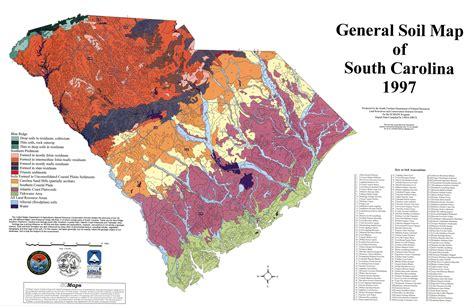 south carolina map maps south carolina web of water knowitall org