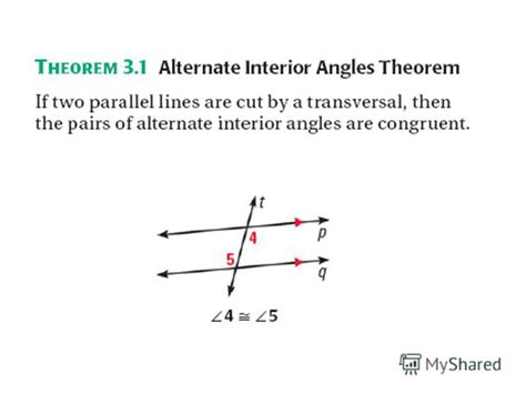 Definition Of Alternate Interior Angles Theorem by Alternate Interior Angles Theorem Pictures To Pin On Pinsdaddy