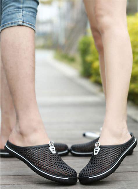 Sepatu Santai Ukuran 45 sepatu sendal slip on santai size 37 black