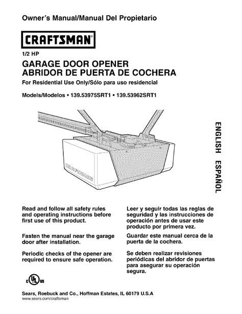 Chamberlain Garage Door Opener Manuals Chamberlain Garage Door Opener Manual Hd900d Fluidelectric