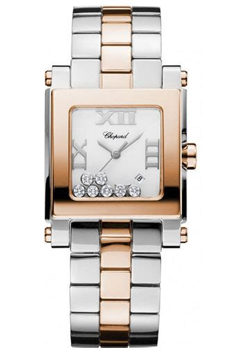Chopard Chess Style Square For chopard happy sport square medium steel and gold watches