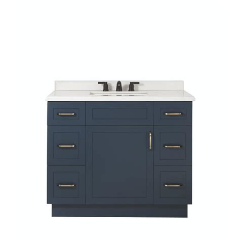 25 X 22 Vanity Top Home Decorators Collection Lincoln 42 In W X 22 In D X