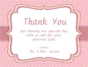 thank you cards wedding wording new calendar template site