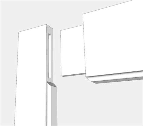 beaded frame   kitchen dresser finewoodworking