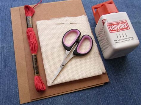 embroidery floss card template how to make a and simple cross stitch card