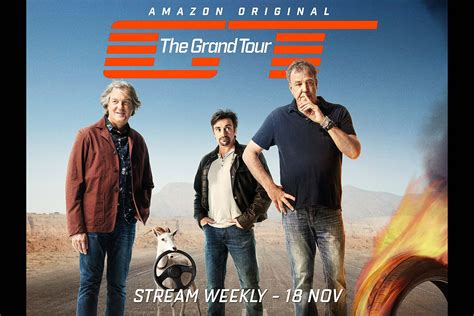 tour pic quot the grand tour quot trailer with clarkson hammond and may
