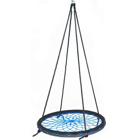 net swing 23 6 quot diameter spider web playground swing net web nest