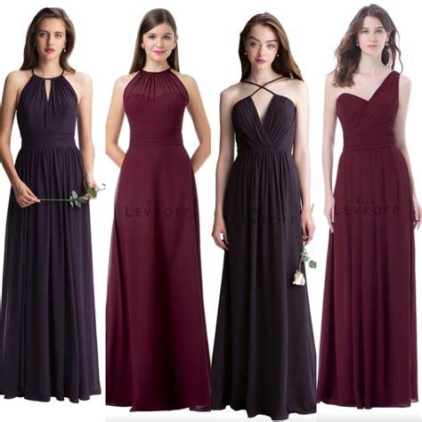 wine colored bridesmaids dresses wine color bridesmaid dresses bridesmaid dresses dressesss