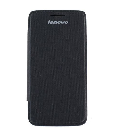 Flip Cover Lenovo S650 sma battery flip back cover for lenovo s650 black