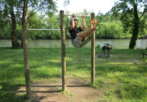 Build A Backyard Pull Up Bar Fitness Afar Great Places To Hang Out At The Bar Travel