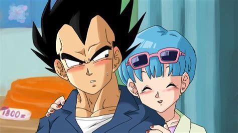 imagenes goku pequeño conoce a la hija de vegeta y bulma en dragon ball super