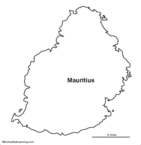 mauritius map outline google search map outline map