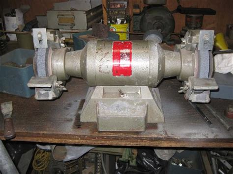 photo index wissota manufacturing co bench grinder