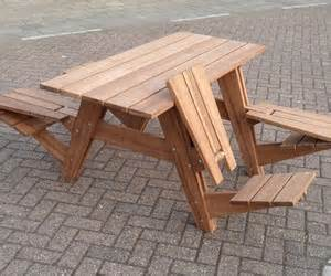 picnic table turns into bench benches that turn into picnic tables room ornament