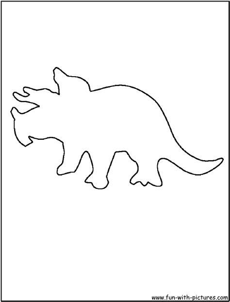 best photos of dinosaur outline template dinosaur