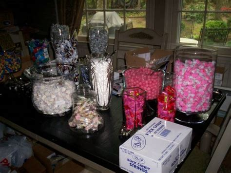candy buffet how much candy do we need weddingbee