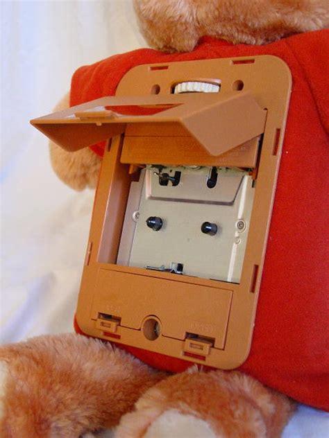 teddy ruxpin cassette teddy ruxpin