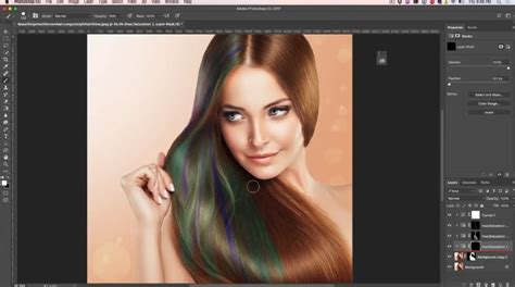 change hair color photoshop how to change hair color in photoshop tutorial photoshopcafe