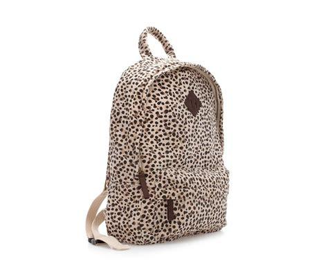 Tas Korea Studded Leopard Backpack rugzak met panterprint zara projecten om te proberen