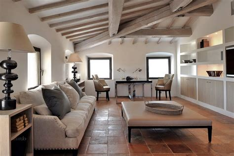 Country Livingrooms by Luxury Italian Villa For Rental