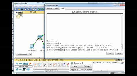 nat ccna tutorial setup nat for the cisco ccna w packet tracer part 4