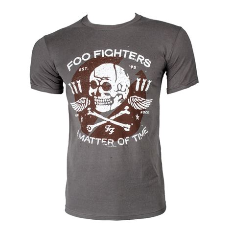 T Shirt Foo Fighters Zero X Store foo fighters matter of time t shirt grey blue banana uk