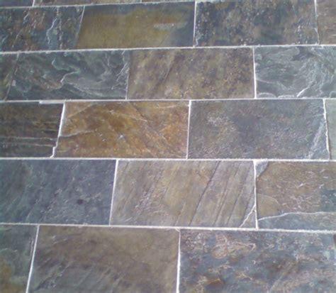 ms international multi color in x in gauged slate floor multicolor slate flooring in