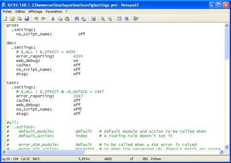 yaml tutorial c commencer dvelopper avec le framework symfony