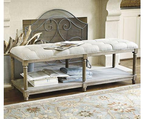 ballard design bench ballard designs saverne tufted bench copy cat chic