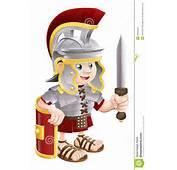 Soldado Romano Com Espada Foto De Stock Royalty Free