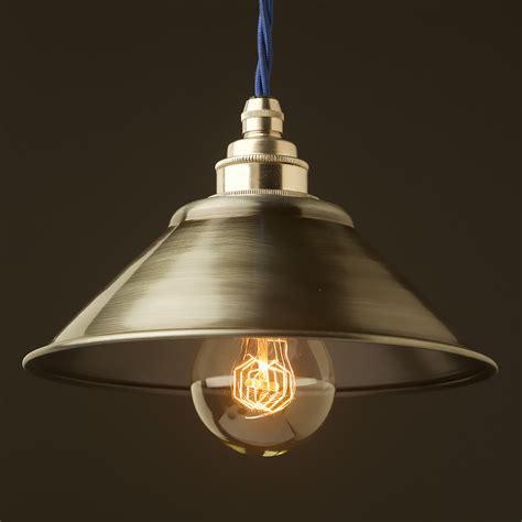 Light Shade Pendant Antiqued Steel Light Shade 190mm Pendant