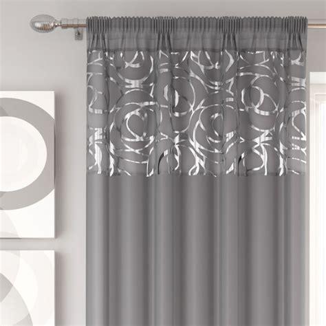 tony s curtains skye silver voile curtain panel tony s textiles
