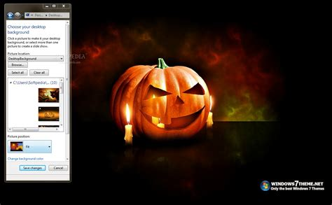 win 7 halloween themes halloween windows 7 theme with sound download