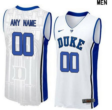 customized jersey ncaa basketball youth duke blue devils custom v neck college basketball