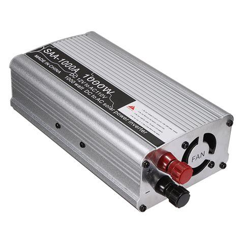 Tespen Digital 12 250v Ac Dc Merk Suoer electrical equipment instruments solar power inverter 1000w 12v dc to 110v ac modified sine