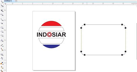 membuat logo indosiar cara belajar desain cara mudah membuat logo indosiar