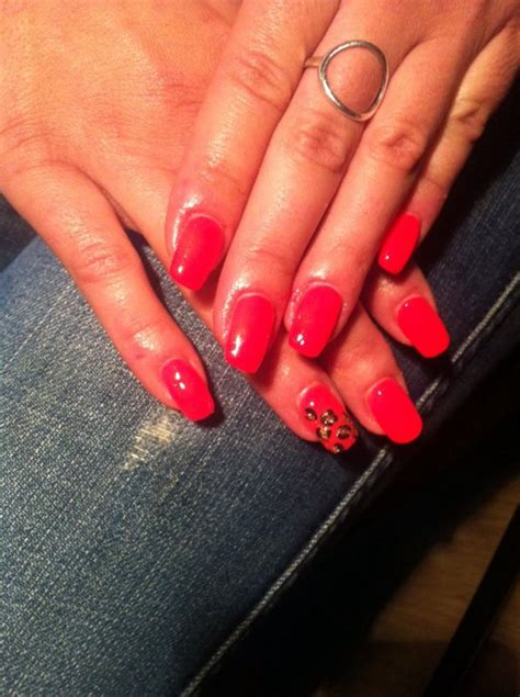 Ongle En Gel Corail by Nails Color Corail Flash Ongles En Gel Bruxelles