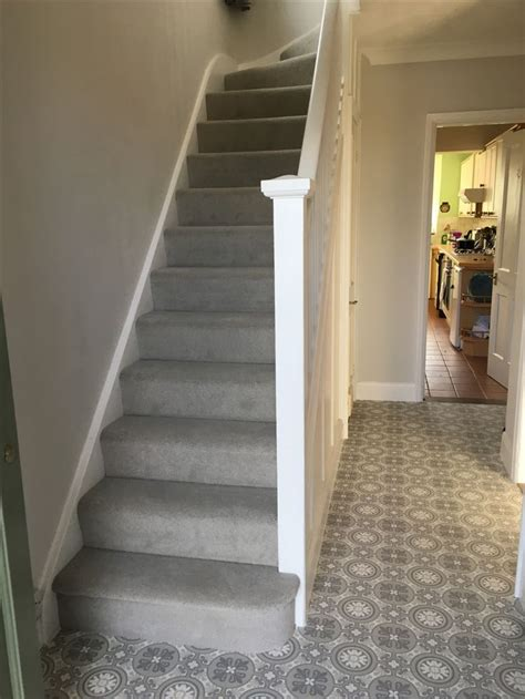 grey patterned stair carpet 7 best hallway design images on pinterest 1930s hallway