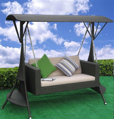 Swing Chair Patio Wood Furniture Patio Furniture Swing