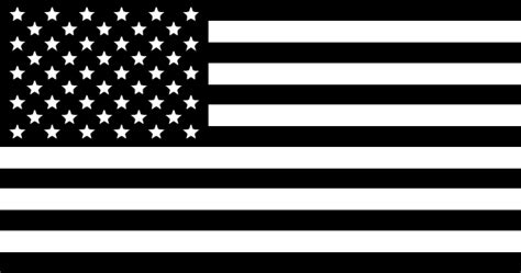 American Flag Black And White Clipart black and white american flag clip at clker vector clip royalty free