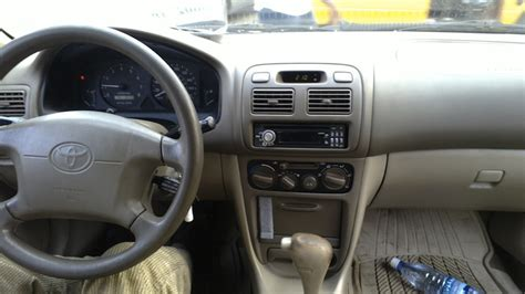 Toyota Corolla 1999 Interior by Toks 1999 Toyota Corolla 850k Pix Attached