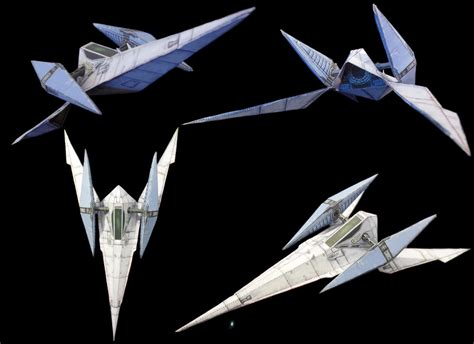 Arwing Papercraft - papercraft sfx arwing model by archus7 on deviantart