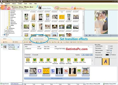 Wedding Animation Maker Software by Wedding Album Maker Gold Free