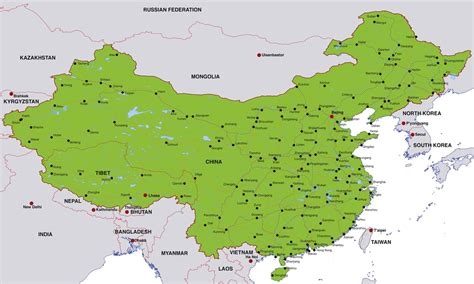 map city 2018 china city maps maps of major cities in china